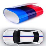 Sticker ornament auto model BMW ///M Power (3m x 18cm)
