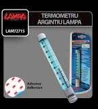 Termometru argintiu Lampa - CRD-LAM72715