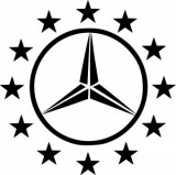 Sticker Mercedes 50 cm