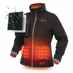 Jacheta neagra pentru femei incalzita Milwaukee M12 HJLADIES-0(XL)