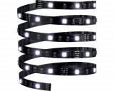 Banda LED YourLED ECO 3m 14,5W, lumina RGB, incl. telecomanda si transformator