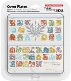Nintendo Official Cover Plate for New 3DS - Monster Hunter 4 White /3DS