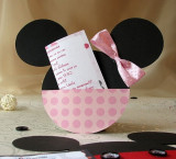 Invitatii botez Minnie Mouse MMI02