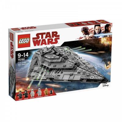 LEGO® Star Wars - Star Destroyer Al Ordinului Intai (75190) foto