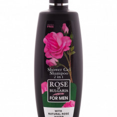 Gel de Dus - Sampon pt Barbati 2 IN 1 330ML Rose Of Bulgaria