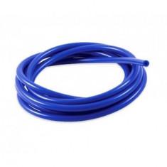 Furtun silicon vacuum 12mm, albastru
