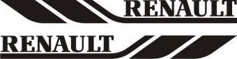 Set stickere Renault 50 cm foto
