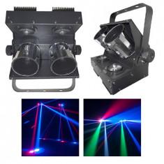 EFECT ROLLER LED 2X12W RGBW DMX