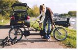 Bicicleta in tandem GEBRE pliabila, 20, 3