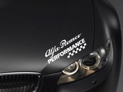 Sticker Performance - ALFA ROMEO foto