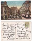 Oradea 1915 - Cafe Royal, ilustrata circulata