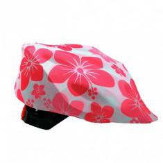 Husa casca bicicleta, Coolcasc Pink Hawai