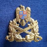 Emblema de coifura Infanterie - cuc militar - insigna