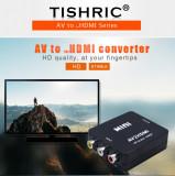 Cumpara ieftin CONVERTOR AV RCA LA HDMI-Model 2019-Procesor Mai Puternic FULL HD AUDIO SI VIDEO