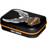 Cutie metalica VINTAGE cu bomboane - Harley Davidson Eagle