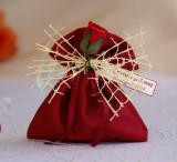 Marturii nunta / botez saculeti arahide glazurate MS01G