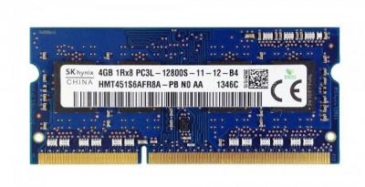 Memorie Laptop SKhynix 4GB DDR3 PC3L-12800S 1600Mhz 1.35V foto