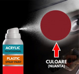 Spray Profesional RAL3004 pentru vopsire elemente din plastic sau metal