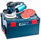 Masina de slefuit orbitala Bosch GEX 125-150 AVE, Masina de polisat, Retea electrica, 400 W