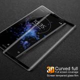 Folie sticla securizata curbata / Full size 3D pentru Sony Xperia 10 / XA3 / XZ3