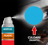 Spray Profesional RAL5012 pentru vopsire elemente din plastic sau metal