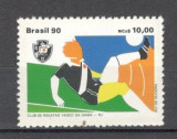 Brazilia. 1990 Cluburi de fotbal-Vasco da Gama  EB.469, Sport, Nestampilat