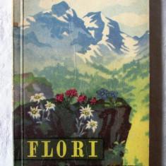 FLORI DIN MUNTII NOSTRI. Cu 24 planse in culori- Al. Beldie, C. Pridvornic, 1959, Alta editura