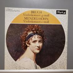 Bruch/Mendelssohn – Violin Concertos (1973/Pergola/Holland) - Vinil/RAR/Ca Nou, Deutsche Grammophon