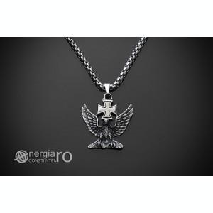 Pandant Amuleta Talisman Pandantiv Vultur INOX - cod PND180