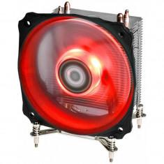 Cooler CPU ID-Cooling SE-912i-R Red LED, Ventilator 120mm, Heatpipe-uri Cupru