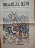 Ziarul Universul Literar , nr. 19 , 1915 , Romania Mare , cromolitografie