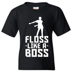 Tricou FORTNITE T-Shirt Floss Like A Boss 9-11 ani + Bratara CADOU !!