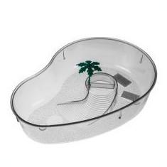 Terrarium pentru broaște țestoase cu palmier – transparent