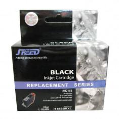 Cartus cerneala compatibil cu HP 655XL black, Negru