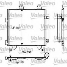 Radiator clima pentru Peugeot 107 1.4 HDi VALEO - 818014
