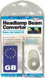 Convertori lumina faruri pentru masini Anglia/ UK, reglare raza faruri pentru circulatie pe banda stanga