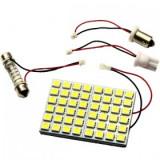 Placa LED SMD 5050 58*43mm 12V lumina alba calda COD: PT6