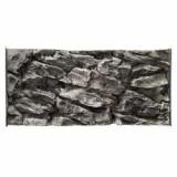 Fundal acvariu 3D 80 x 40 cm – GRI PIATRĂ