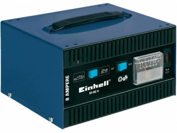 Incarcator bateri auto Einhell BT-BC 8