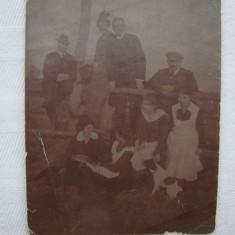Fotografie veche, datata 1918 din localitatea Perjamos, Periam, jud. Timis