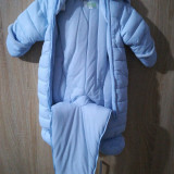 Combinezon bebe, 3-6 luni, Bleu
