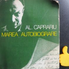 Marea Autobiografie Al Caprariu  cu dedicatie