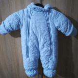 Combinezon bebe, 6-9 luni, Bleu