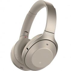 Casti Wireless Over Ear Auriu, Sony