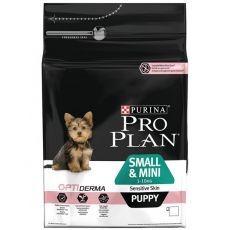 Purina PRO PLAN PUPPY Small & Mini Sensitive Skin - 3kg