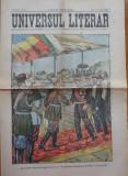 Ziarul Universul Literar ,nr. 44 , 1902 , Regele Carol I , cromolitografie