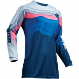 Thor Tricou Pulse Depths Ocean/Pink S9 Dama
