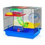 GINO TEDDY LUX I - cuşcă pentru hamster cu tunel