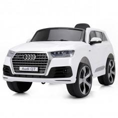 Masinuta electrica Chipolino SUV Audi Q7 white, Alb