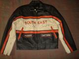 Geaca piele naturala MOTO/Motor/Barbati/Casual/ SOUTHEAST MOTORCYCLES/Noua !